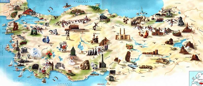 Карта Тбилиси С Достопримечательностями На Русском Языке Подробная Скачать - фото 10