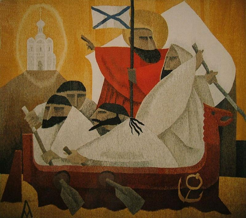 Андрей Мадекин -  Благовестие Святого апостола Андрея.jpg