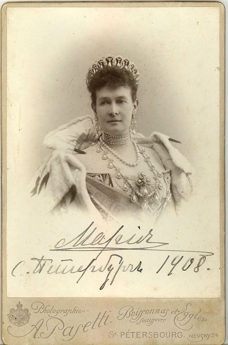 23 - Великая княгиня Мария Павловна в тиаре (вариант с жемчугом).jpg