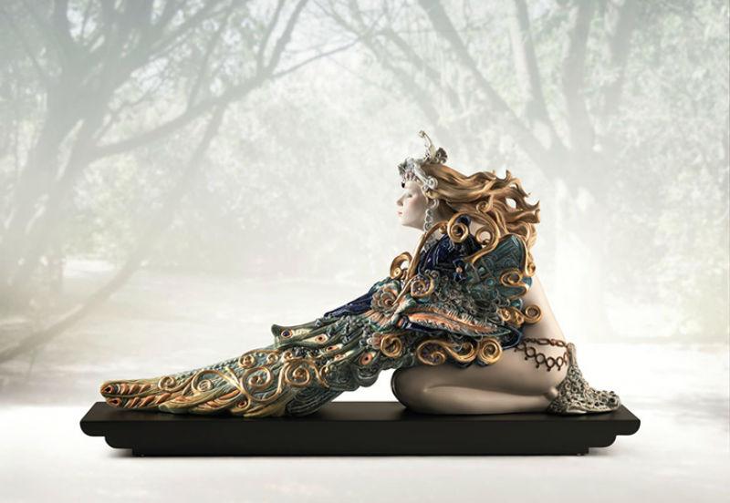 Статуэтка «Крылатая красота» - скульптор Франсиско Полопе.jpg
