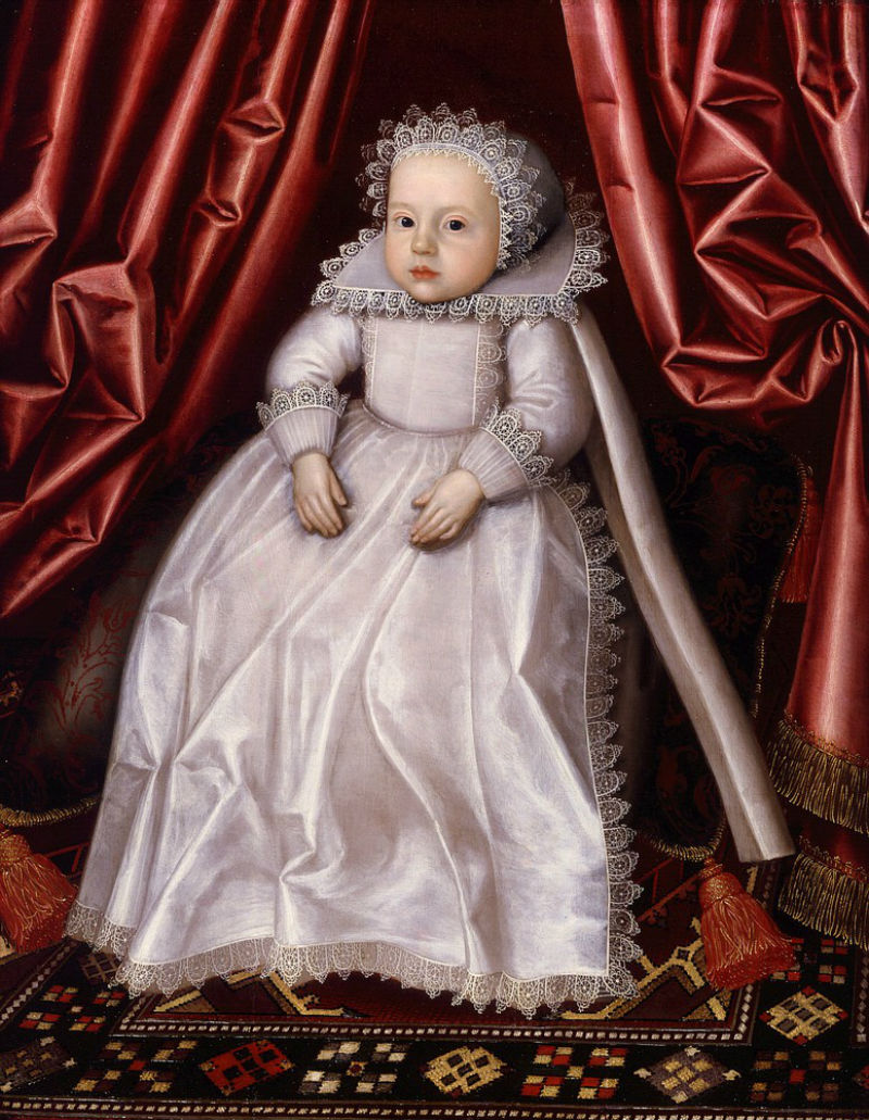 William_Larkin_A baby traditionally called Lady Waugh who has yet to be shortcoated 1615.jpg