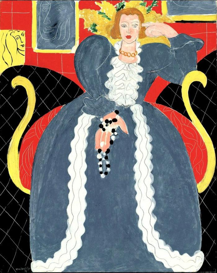 Женщина в голубом - портрет Лидии Делекторской.jpg