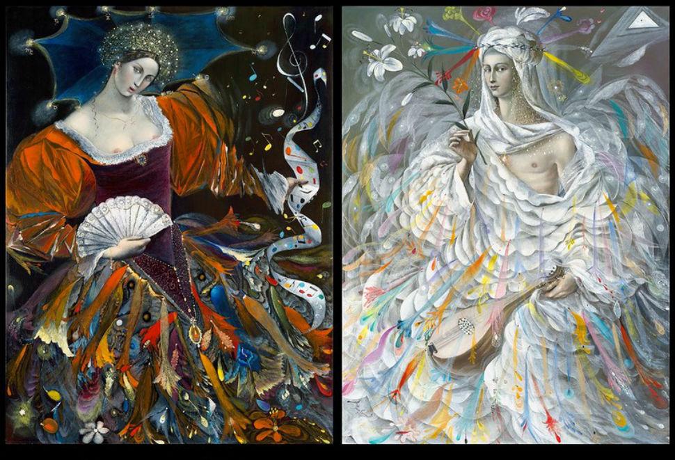 Диптих Благовещение - Мрия и Ангел.jpg