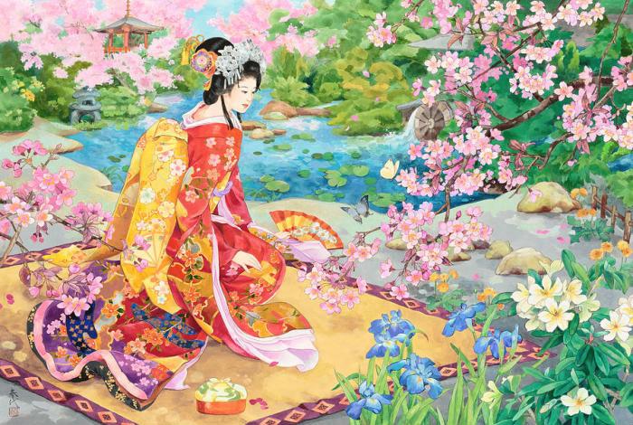 Сад цветущей сакуры.jpg