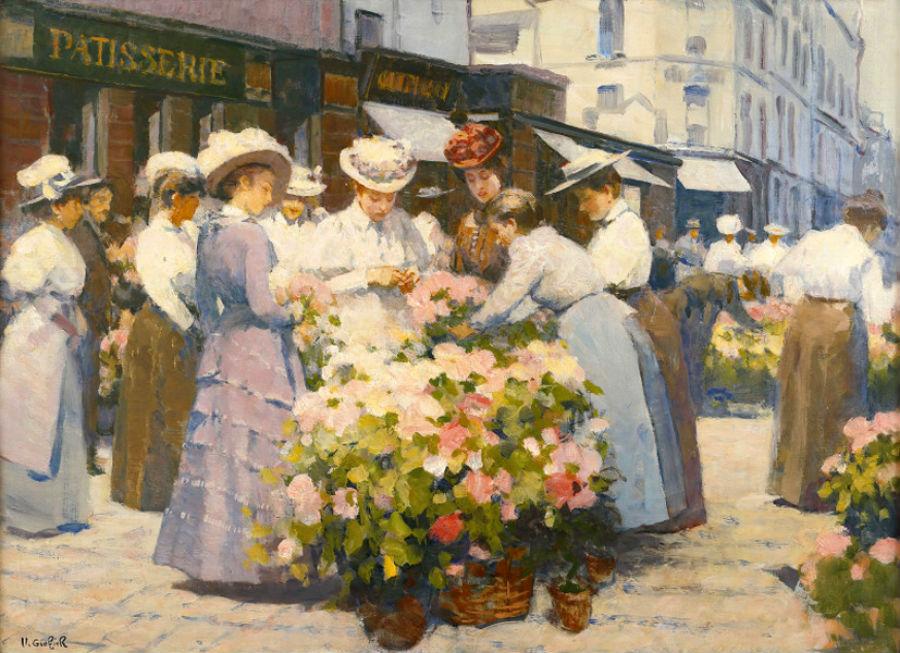Виктор Герье - Цветочный рынок.jpg