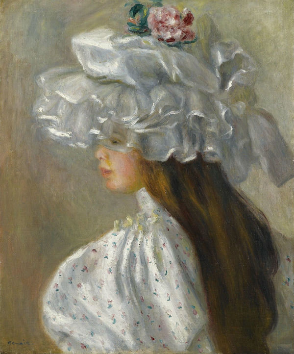 Ренуар - Девушка в белой шляпе.jpg