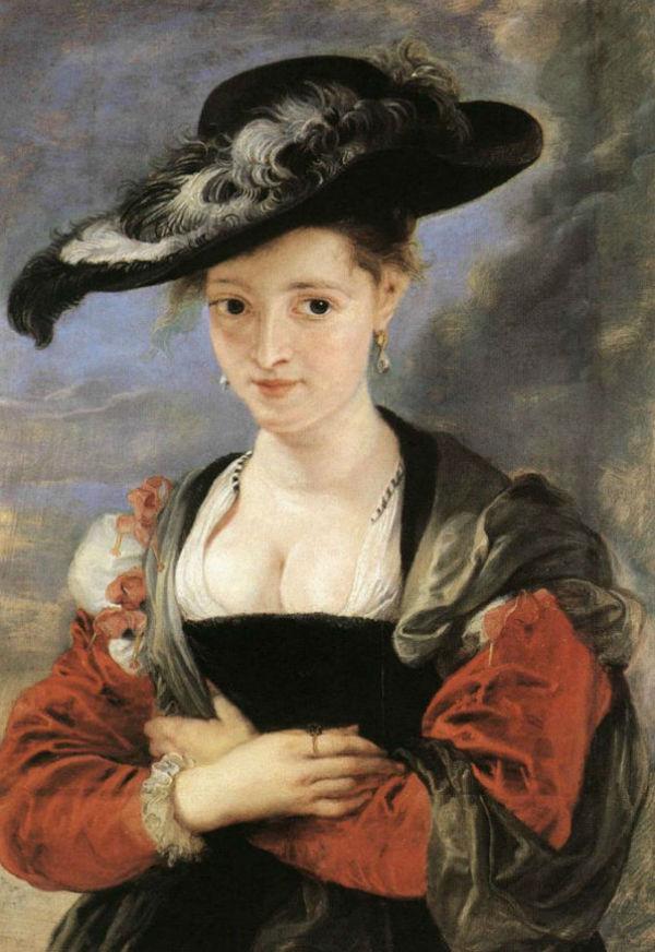 Питер Пауль Рубенс - Портрет дамы в соломенной шляпке.jpg
