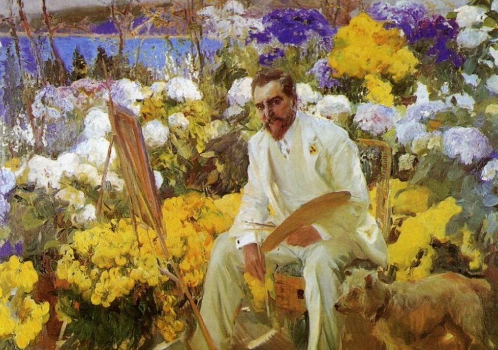 Sorolla y Bastida Joaquin - portret Louis Comfort Tiffany.jpg