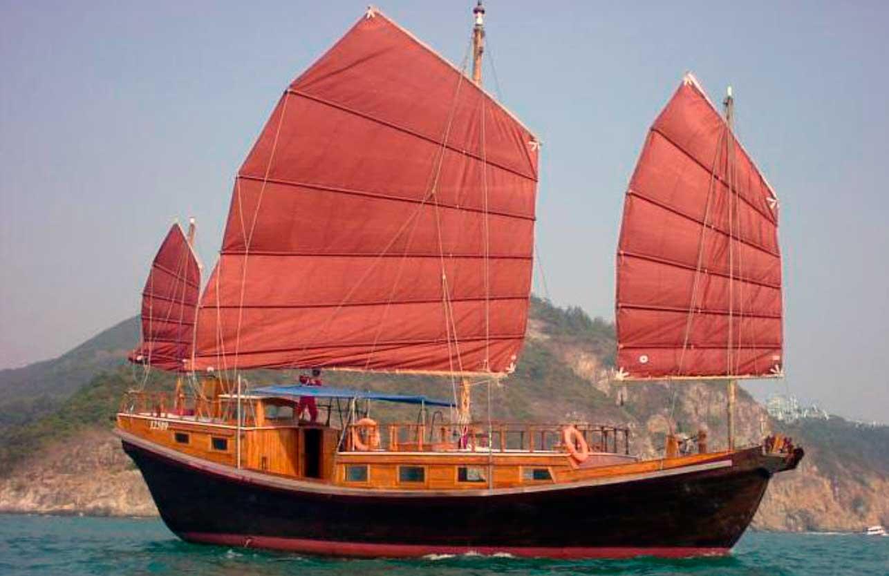 Китайские корабли картинки