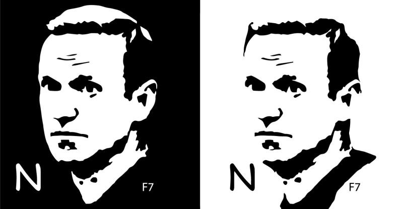 Выберите левое или правое изображение, обратитесь к печатнику (к дизайнеру для вариаций с цветом)