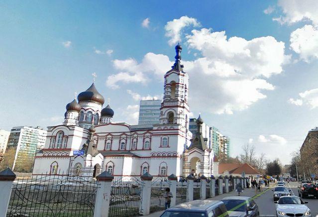 храм Дмитрия Солунского на Благушах, Москва