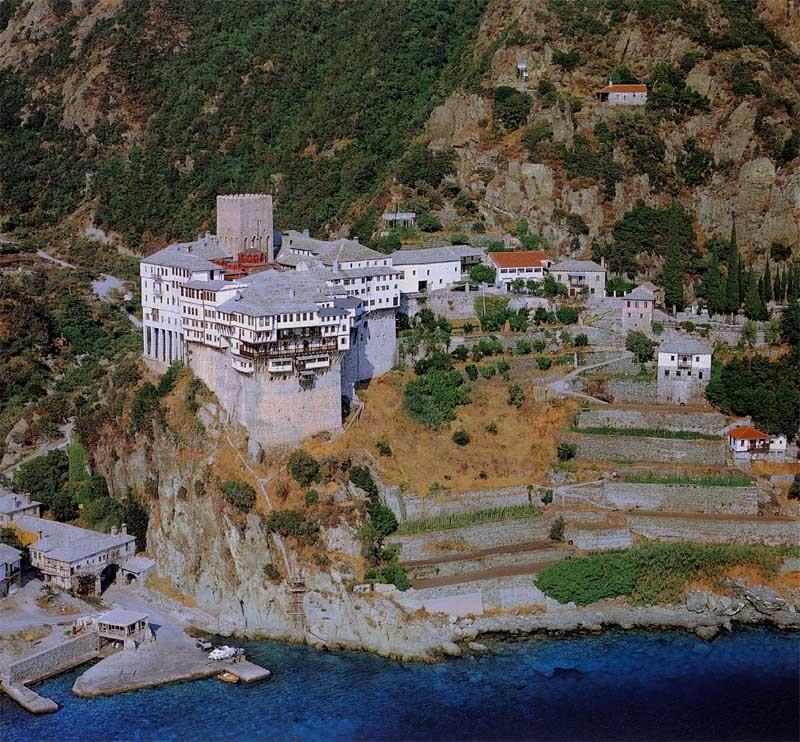 Дионисиевский монастырь в честь Рождества святого Иоанна Предтечи на Афоне - Дионисиат
