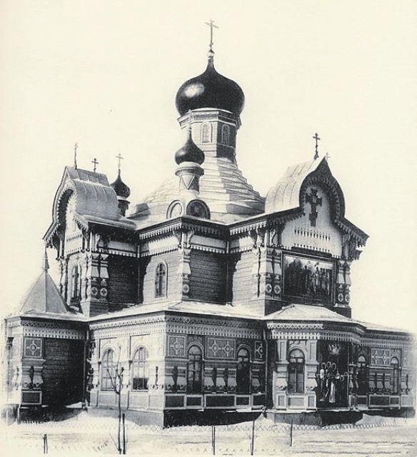 храм прп. Сергия Радонежского на Ходынском поле, конец XIX века