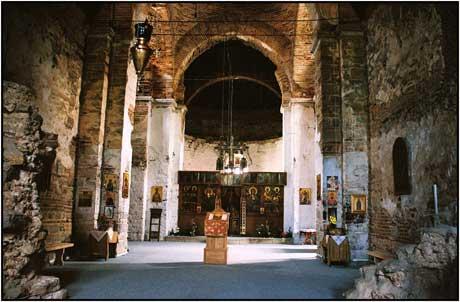 Баньский (Баньска) монастырь в Косово 1