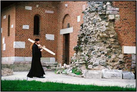 Баньский (Баньска) монастырь в Косово 2 за фото пасибо Хаджи Миодраг Миладинович