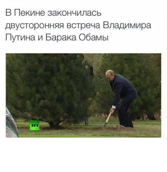 путин_копает