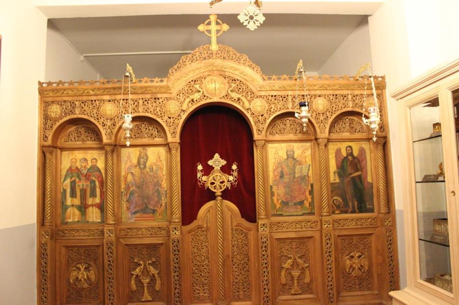 мега спилио иконостас первый храм