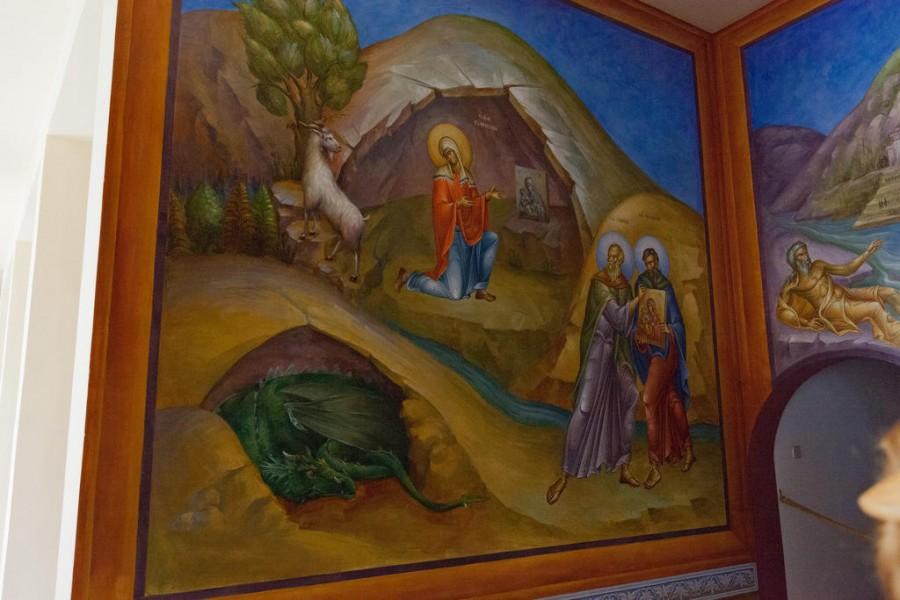 Обретение иконы Пресвятой Богородицы Свв. Симеоном и Феодором