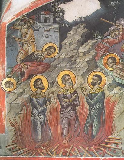 Мученики Акиндин, Пигасий, Аффоний, Елпидифор и Анемподист