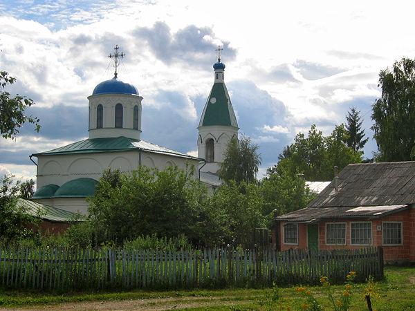 Церковь Рождества Богородицы (1537 г.) в бывшем селе Возмище (ныне в черте города Волоколамска, улица Возмище)