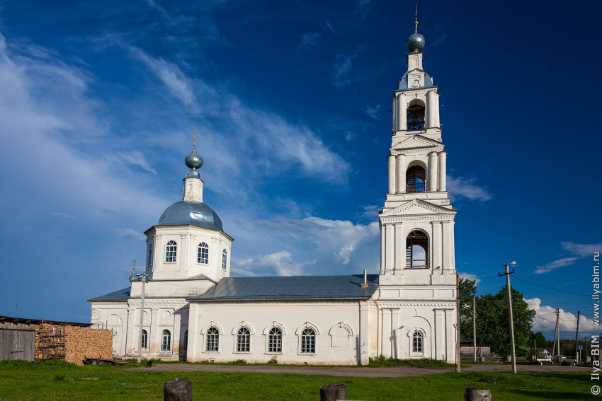 Церковь Михаила Архангела - Прозорово - Брейтовский район - Ярославская область