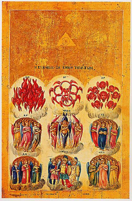 9 ангельских порядков