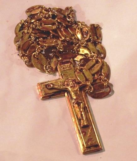 Даниил Сысоев крест