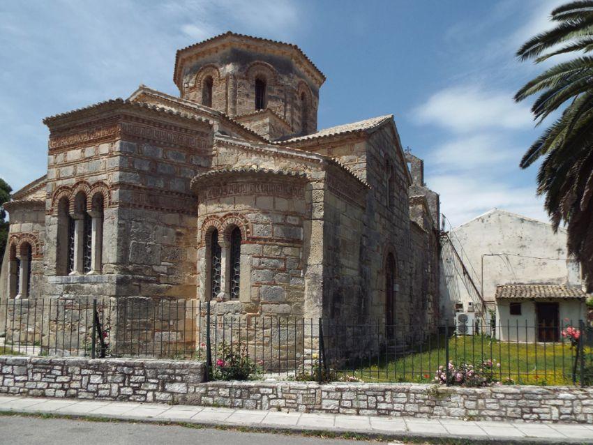 Керкира (Κέρκυρα), о. Корфу. Церковь Иасона и Сосипатра