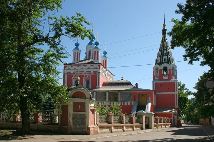Собор Георгия Победоносца за верхом - Калуга - г. Калуга - Калужская область