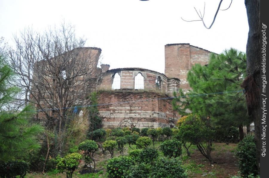 Студийский монастырь. Константинополь, современное фото, разрушен. В ближайшее время может быть преобразован в мечеть