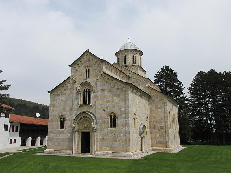 Монастырь Высокие Дечаны , Спасский храм