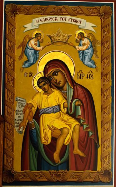 Икона Божьей Матери Киккской (Кипрский извод)