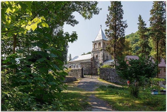 Команский монастырь святителя Иоанна Златоуста, Абхазия
