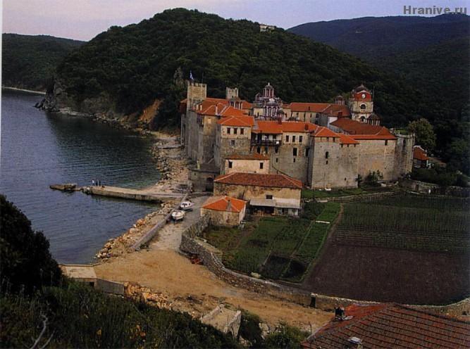 Есфигменский монастырь, Афон