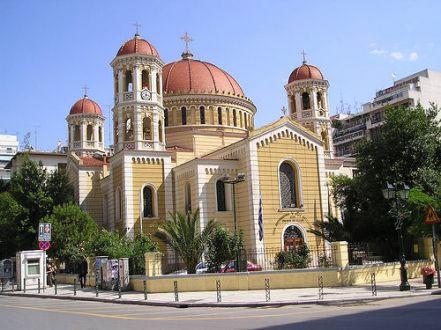 храм Григория Паламы с Салониках