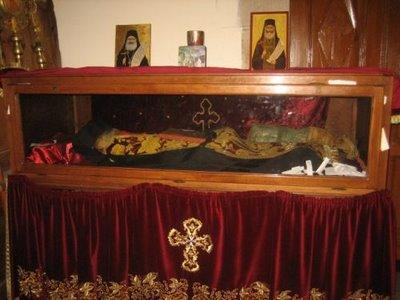 Рака с мощами священномученика Филумена