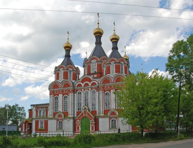 Спаса- Преображенский собор города Кимры
