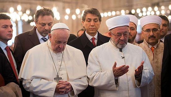 экуменизм папа римский в мечети