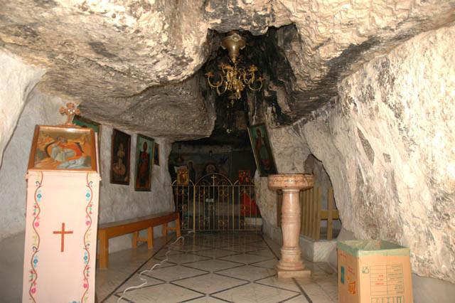 Пещера пророка Илии, Хайфа, Иорданская путыня