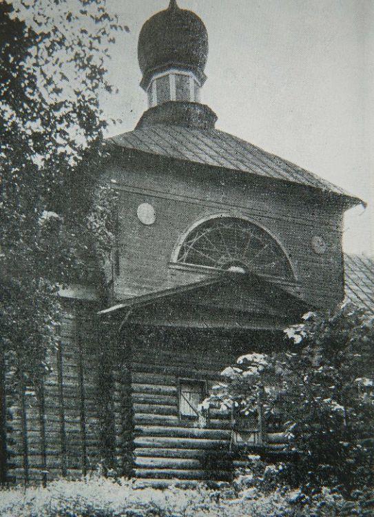 Церковь Никиты Мученика на Никитском, что на Дрозне, погосте, село Бывалино,  сгорела приблизительно в 1988 году