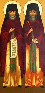 Преподобномученики Иоасаф (Крымзин) и Петр (Мамонтов)