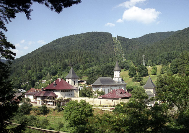 монастырь Бистрица. Румыния