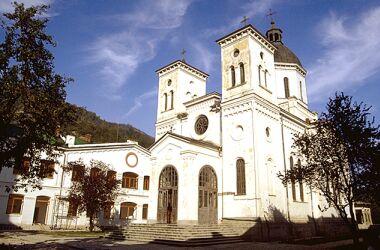 Храм преп.Григория Декаполита в монастыре Бистрица, Румыния