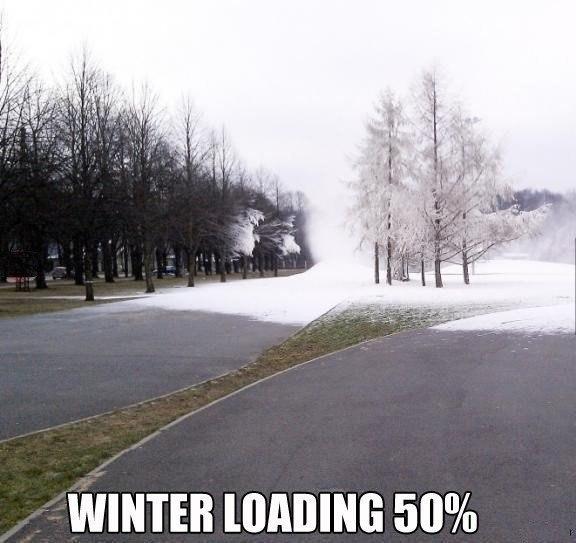 прикол зима 50