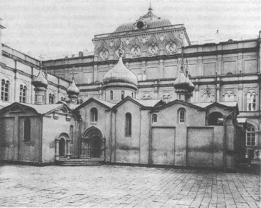 Собор Спаса Преображения на Бору в Московском Кремле (1882)