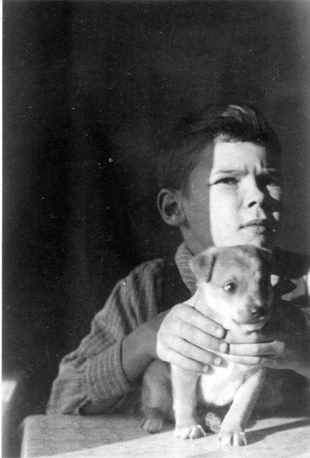 Патриарх Московский и всея Руси Алексий II в детстве (ок.1934-1941)