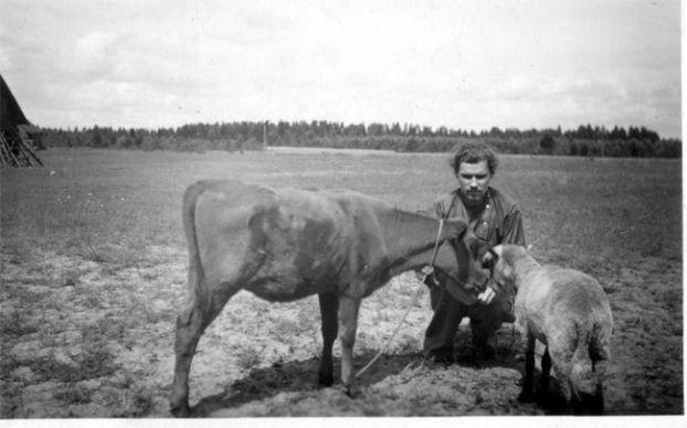 Патриарх Московский и всея Руси Алексий II в молодости (ок.1948-1955)