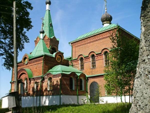 Церковь Николая Чудотворца - Бутурлино - Серпуховский район, восстновлена, фото 2010 года