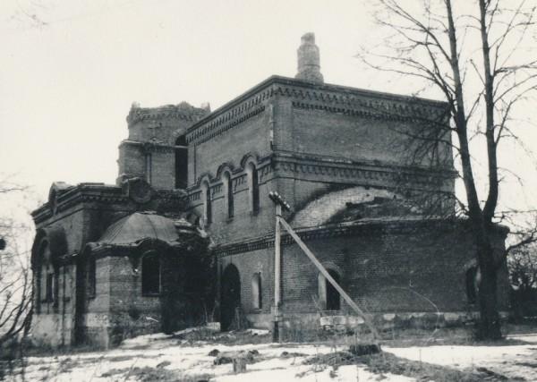 Церковь Николая Чудотворца - Бутурлино - Серпуховский район, фото 1989 года