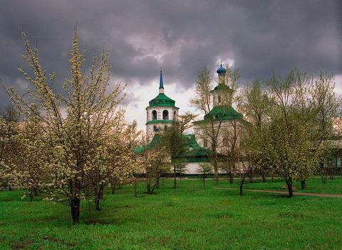 Знаменский женский монастырь в Иркутске, где ныне покоятся мощи святителя Иннокентия
